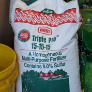 Best TriplePro 15-15-15 Fertilizer