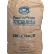 Pacific Pearl Oyster Shell Flour 50 lb bag
